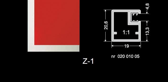 MR Glass Zakład Szklarski Radom - profile aluminiowe