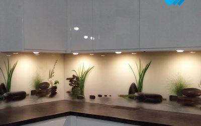 Kamienie w kuchni – realizacja