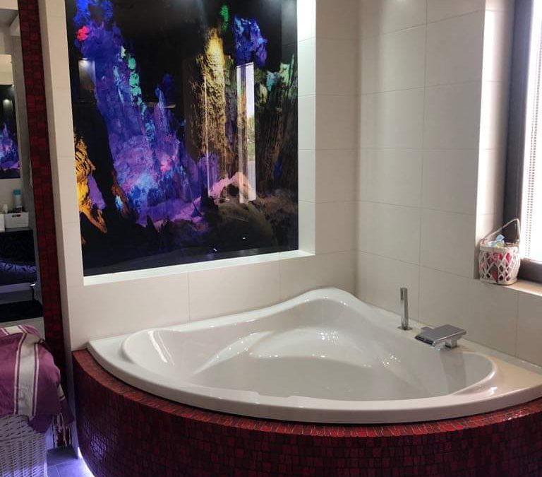 Podmorska jaskinia – łazienka – realizacja